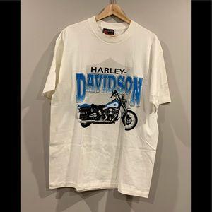 Vtg 1991 Harley-Davidson Motorcycle T-Shirt - NOS